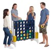 ECR4Kids Jumbo Four-To-Score Giant Game-Indoor/Outdoor 4-In-A-Row Connect - Blue and Gold - image 3 of 4