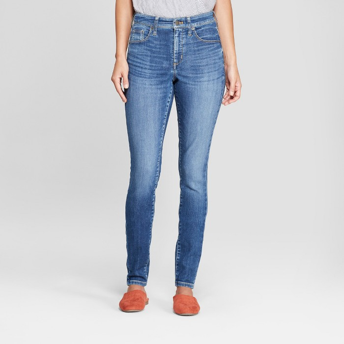 Women's Highest-Rise Skinny Jeans Universal Thread™ Dark Wash - image 1 of 3