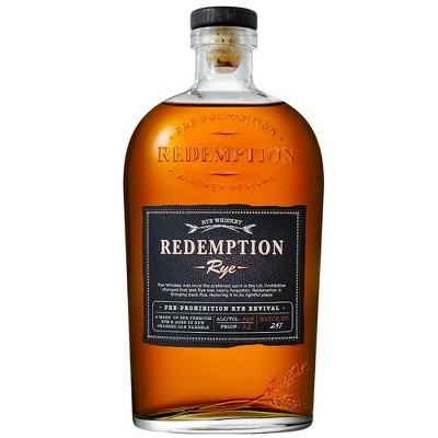 Redemption Rye Whiskey - 750ml Bottle