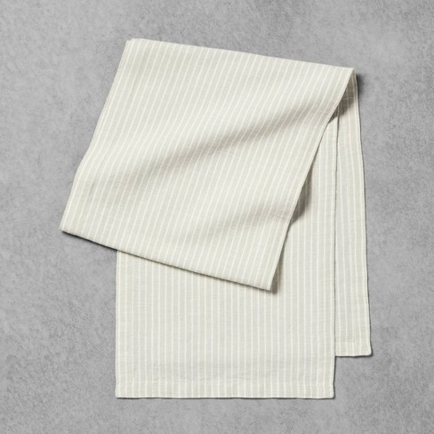 Table Runner Green Stripe - Hearth & Hand™ with Magnolia - image 1 of 3