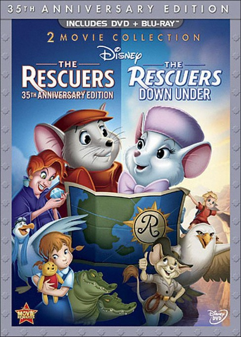 Rescuers & rescuers down under 35 ann (DVD) - image 1 of 1