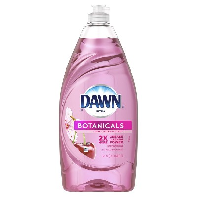 Dawn Ultra Botanicals Dishwashing Liquid Dish Soap - Cherry Blossom - 28 fl oz