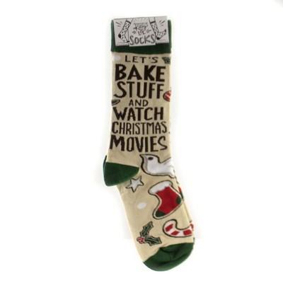 "Apparel 14.25"" Christmas Bake Stuff Socks Gingerbread  -  Socks"
