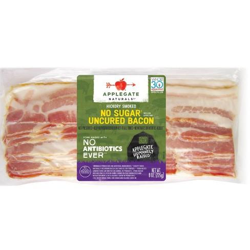 Applegate Natural No Sugar Uncured Bacon - 8oz - image 1 of 4