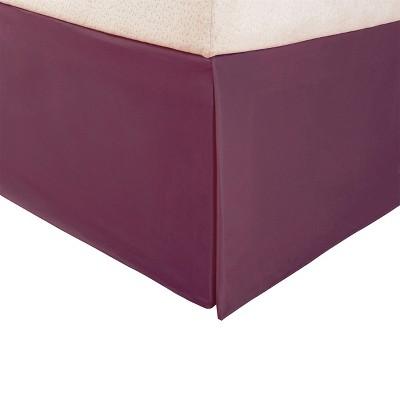 Wrinkle-Resistant Microfiber Bed Skirt with 15 Inch Drop - Blue Nile Mills