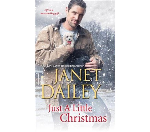 Just a Little Christmas -  Reissue (Cowboy Christmas) by Janet Dailey (Paperback) - image 1 of 1