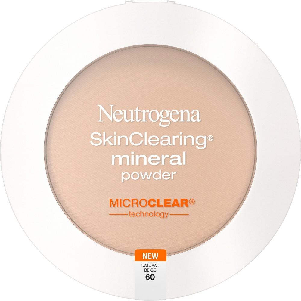 Neutrogena Skin Clearing Pressed Powder - 60 Natural Beige, Natural Beige 60