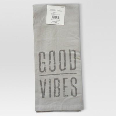 Kitchen Towel Good Vibes - Threshold™