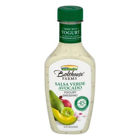 Bolthouse Farms Salsa Verde Avocado Yogurt Dressing 14 oz - image 1 of 4