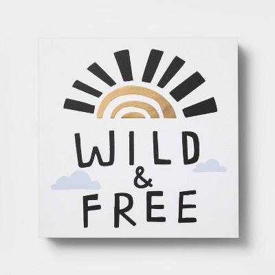 Wild & Free Table Top Art - Pillowfort™
