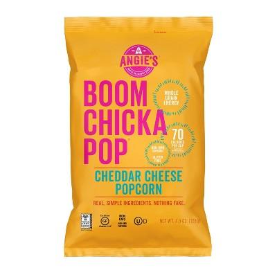 Angie's Boomchickapop Cheddar Cheese Popcorn - 4.5oz