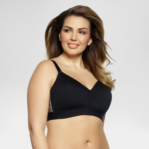 eab8533b7e Paramour® Women s Ariel Wirefree Bra - Black...   Target