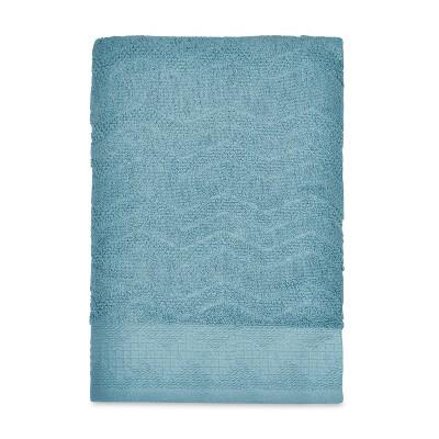 Mesa Chevron Bath Towel Aqua - Destinations