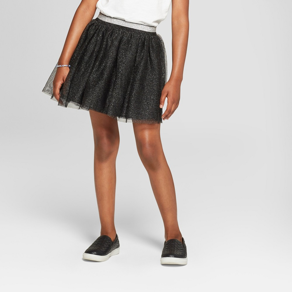 Girls' Holiday Tutu Skirt - Cat & Jack Black XL