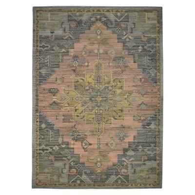 Damask Tufted Vintage Wool Rug Threshold Target