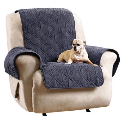 Recliner Slipcover Blue - Sure Fit