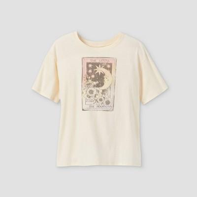 Girls' Oversized Graphic Short Sleeve T-Shirt - art class™