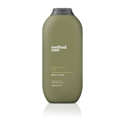 Method Men Bergamot + Lime Body Wash   18oz by Method