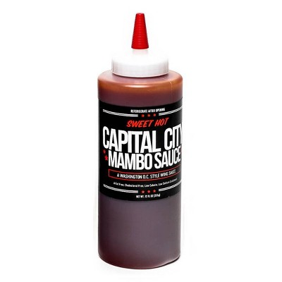 Capital City Sweet Hot Mambo Sauce - 12oz
