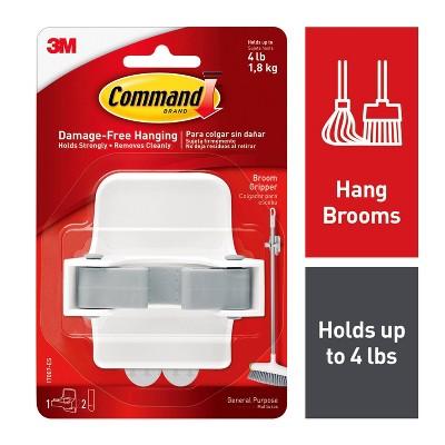 Command Broom Gripper (1 Gripper 2 Strips)