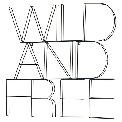 WILD AND FREE Wire Wall Décor - Pillowfort™