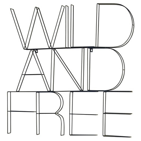 Wild and Free Wire Wall Decor - Pillowfort™ - image 1 of 3