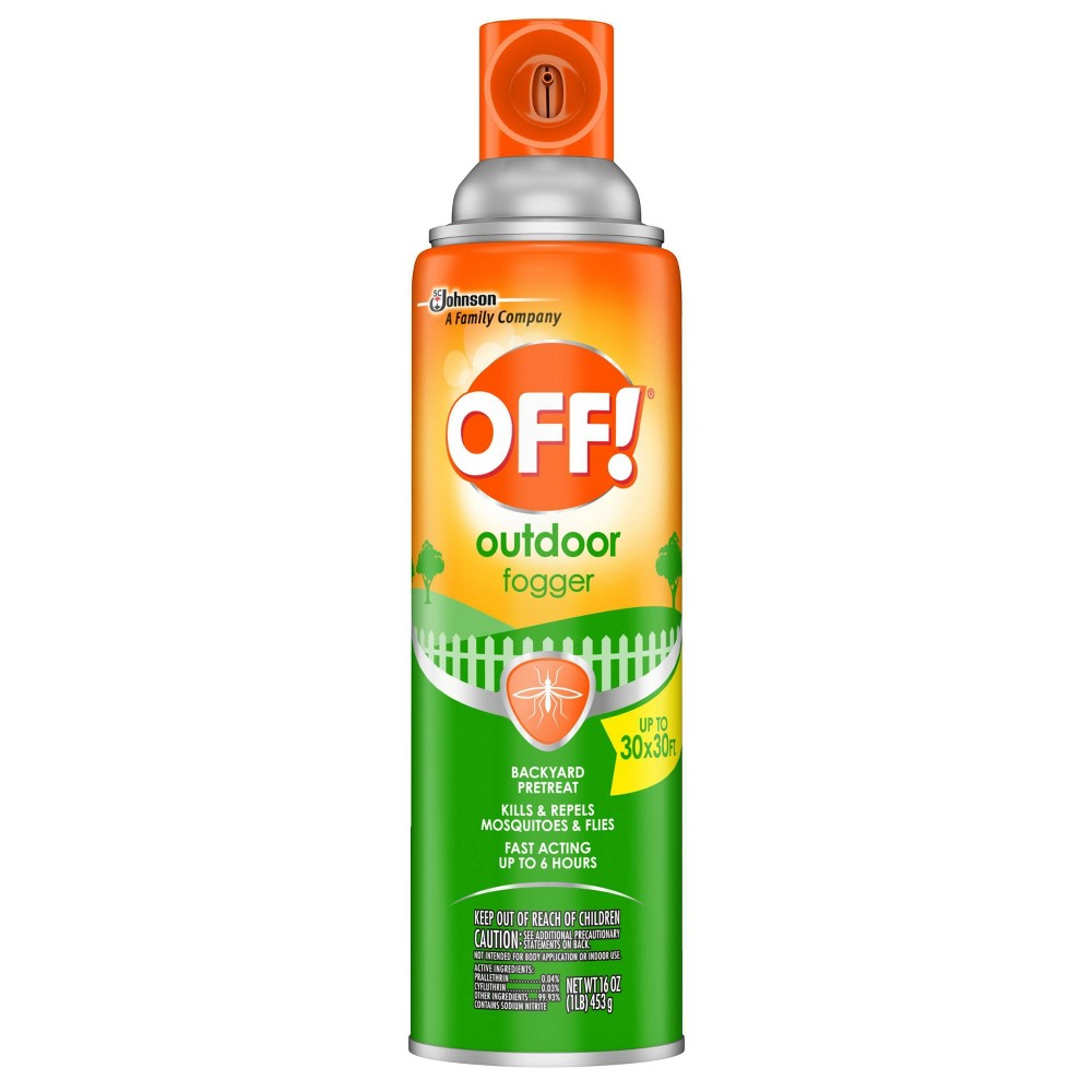 Image of OFF! 16oz Backyard Pretreat Outdoor Fogger