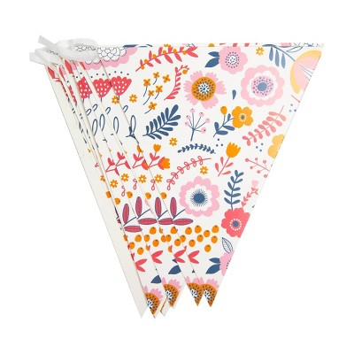 Eco Party Paper Floral Garland Party Decoration