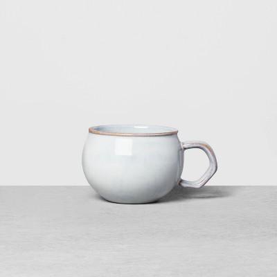 Stoneware Reactive Mug Blue - Hearth & Hand™ with Magnolia