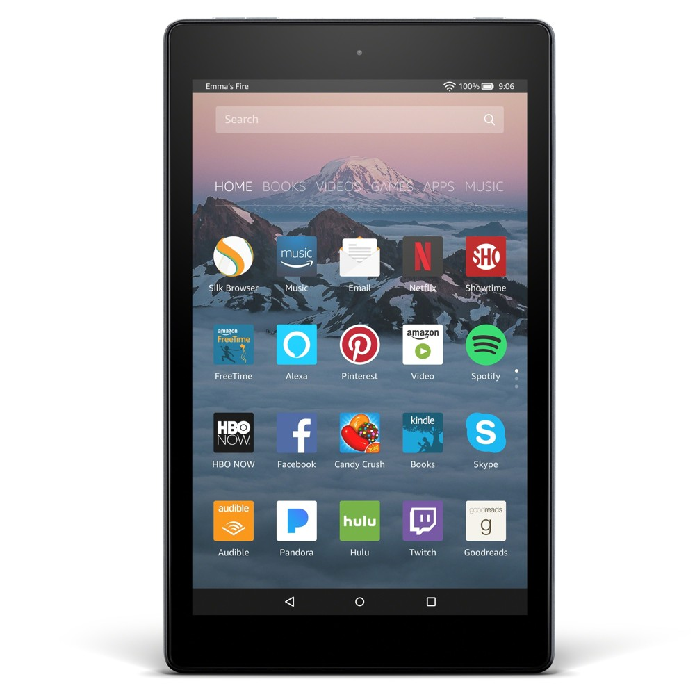 Amazon Fire HD 8 with Alexa (8 HD Display) Black - 16GB
