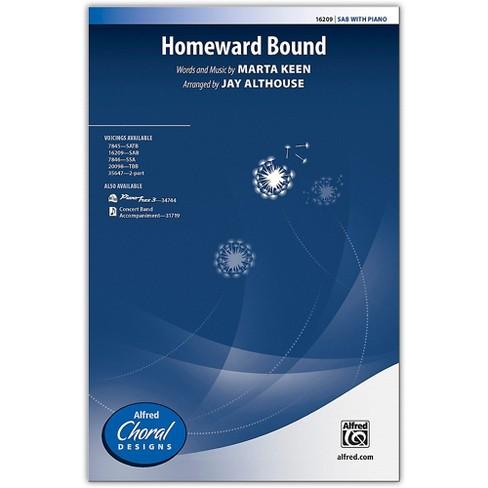 Alfred Homeward Bound SAB Choral Octavo - image 1 of 1