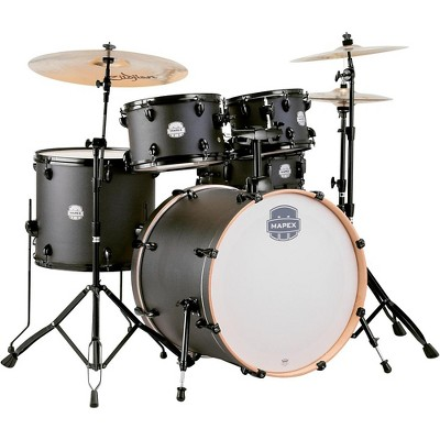 Mapex Storm Rock 5-piece Drum Set Deep Black
