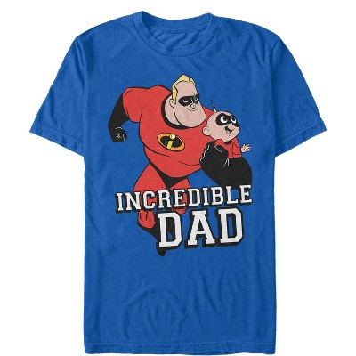 Men's The Incredibles 2 Incredible Dad and Jack-Jack T-Shirt