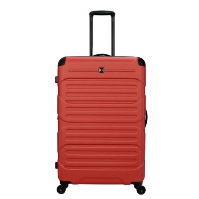 "Skyline 28"" Hardside Spinner Checked Suitcase - Orange"