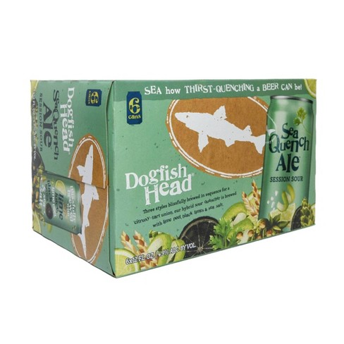 Dogfish Head SeaQuench Ale Session Sour Beer - 6pk/12 fl oz Cans - image 1 of 3