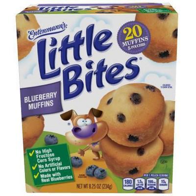 Entenmann's Little Bites Blueberry Muffins - 8.25oz