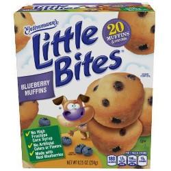 Entenmann's® Little Bites Blueberry Muffins - 8.25oz