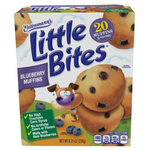 Entenmann's Little Bites Blueberry Muffins - 8.25oz - image 1 of 4