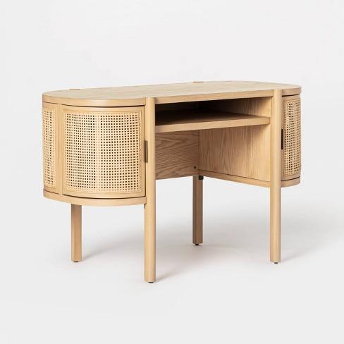 Portola Hills Caned Desk - Threshold™ designed with Studio McGee - image 1 of 4