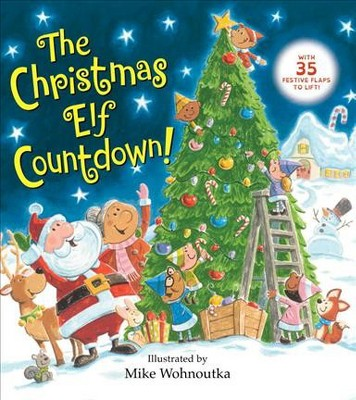 The Christmas Elf Countdown! - (Board Book)