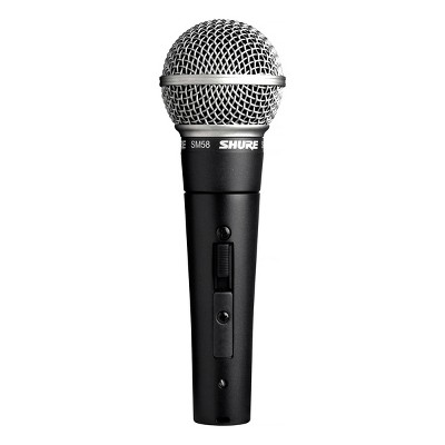 Shure SM58 Handheld Dynamic Vocal Microphone with On/Off Switch