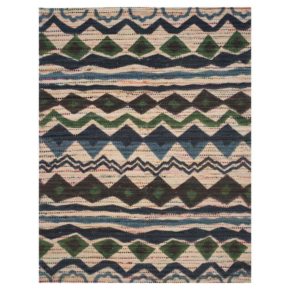 Cedar Brook Rug - Blue- (8'x10') - Safavieh, Blue/Beige