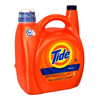 Tide HE Turbo Clean Original Liquid Laundry Detergent - 150oz