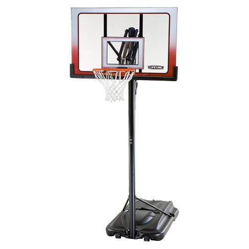 "Lifetime Action Grip 52"" Portable Basketball Hoop - image 1 of 4"