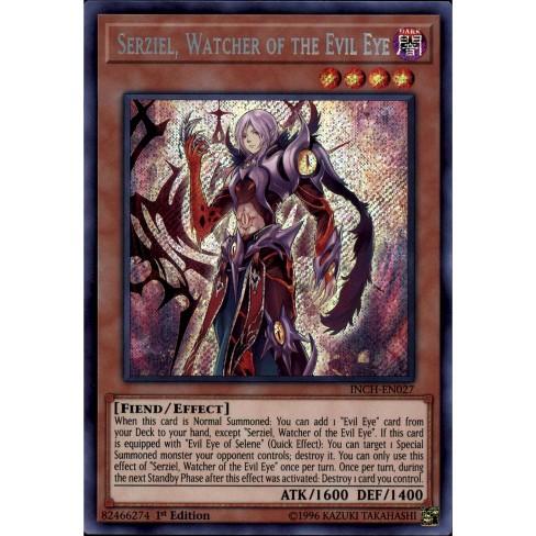 Yugioh Serziel Watcher of the Evil Eye inch-en027 Free Shipping