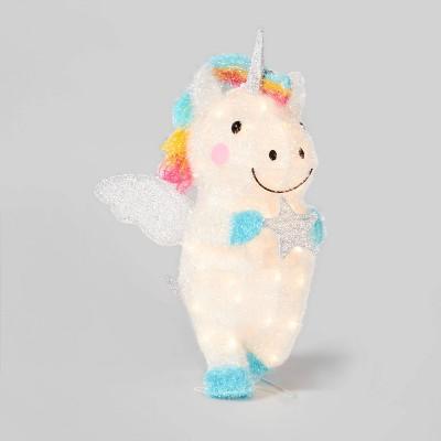 Tinsel Unicorn with 50 Incandescent Lights - Wondershop™