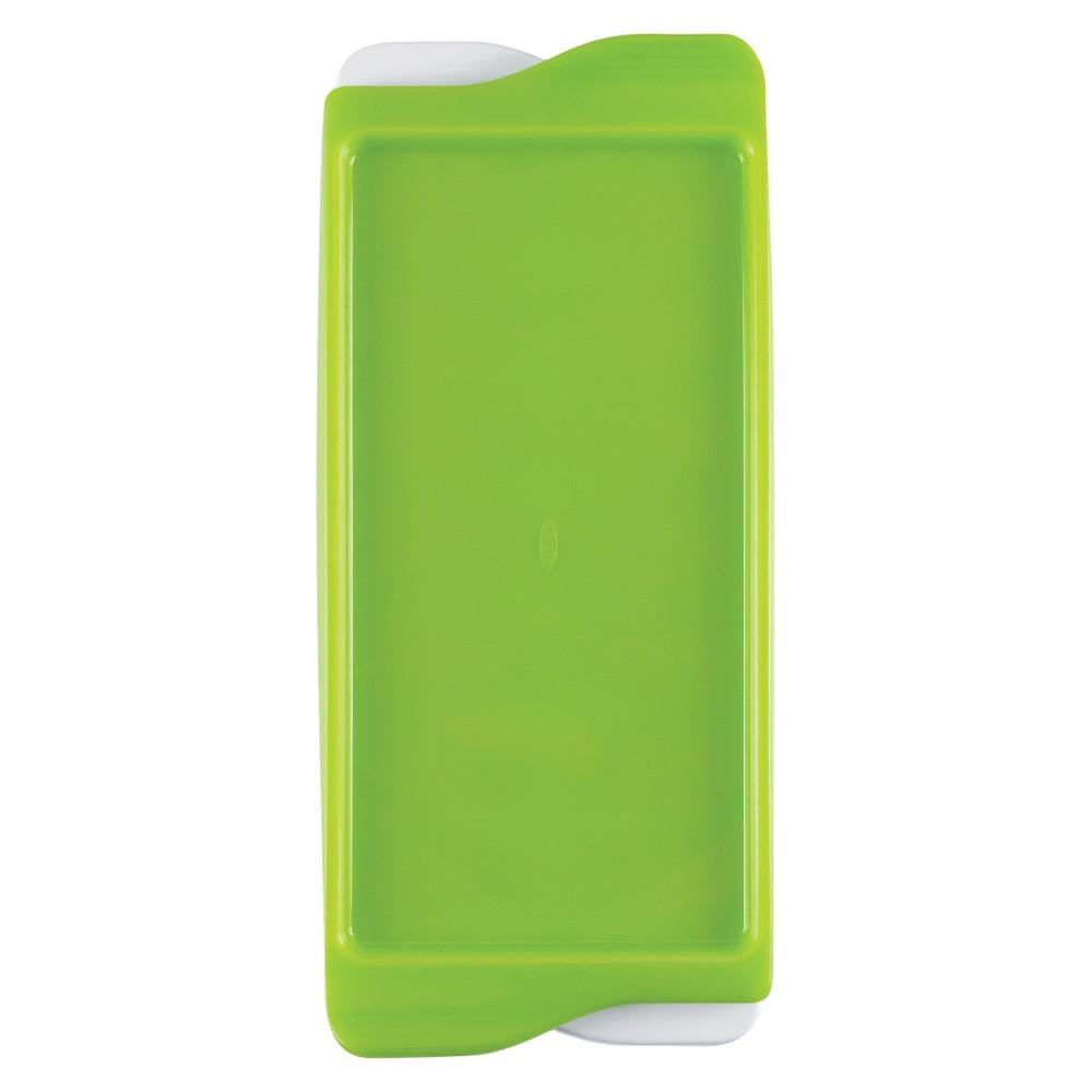 Image of OXO Tot Baby Food Freezer Tray, Green