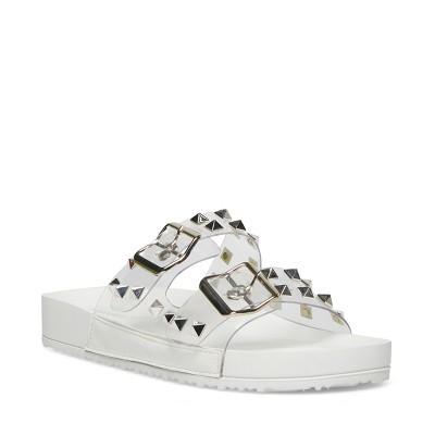 Madden Girl Teddy-P Slide-on Women's Footbed Sandal