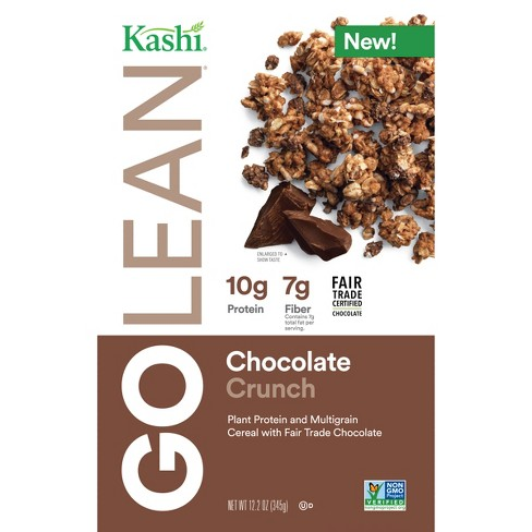 Kashi Go Lean Chocolate Crunch Breakfast Cereal- 12 2oz