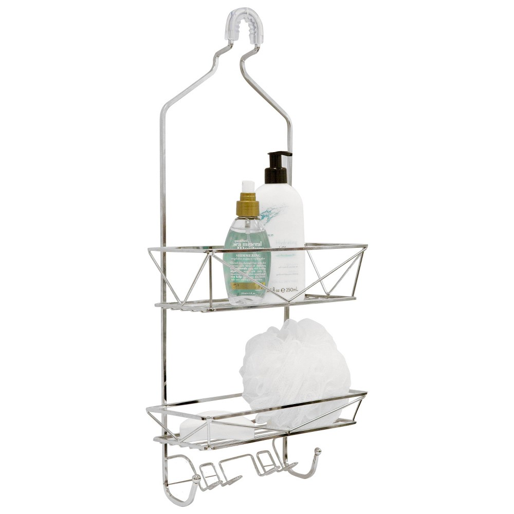 Image of Shower And Bath Caddies Chrome - Bath Bliss, Silver